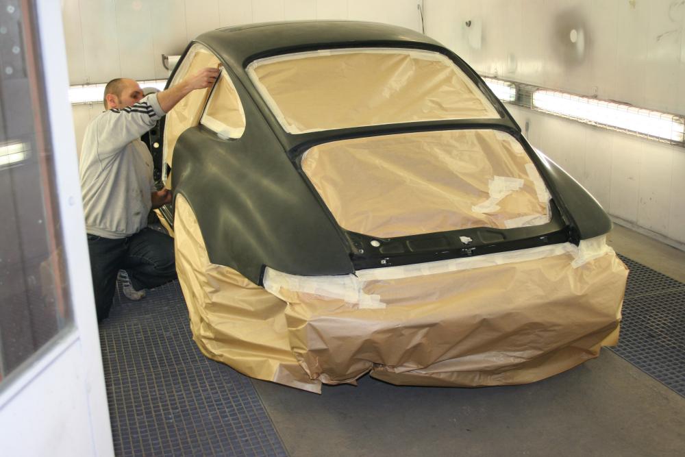 Porsche 964 en peinture Jacquemond