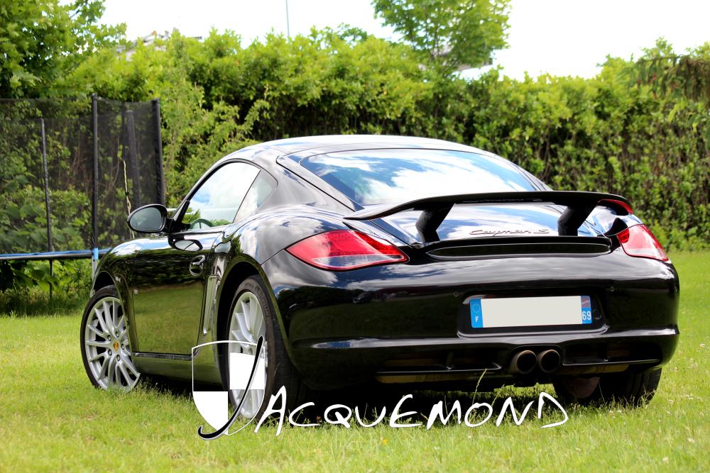 Porsche Cayman 987 aileron arriere Jacquemond