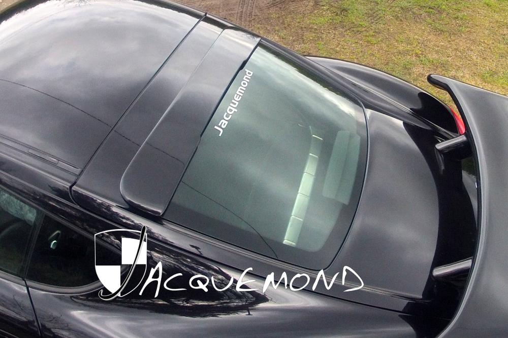 spoiler de toit Porsche 987 Cayman Mk1 Mk2  par Jacquemond
