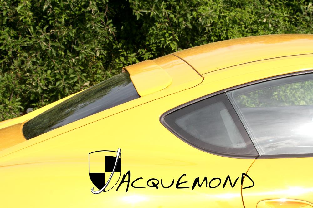 spoiler de toit pour Porsche 987 Cayman Jacquemond