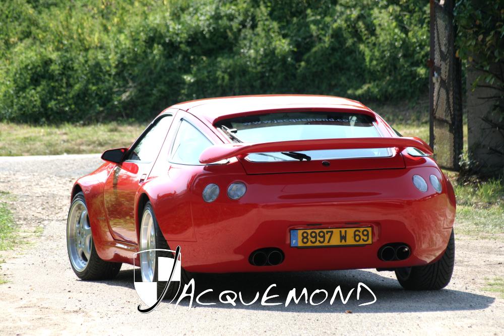 aileron arrière  Porsche 928 Jacquemond