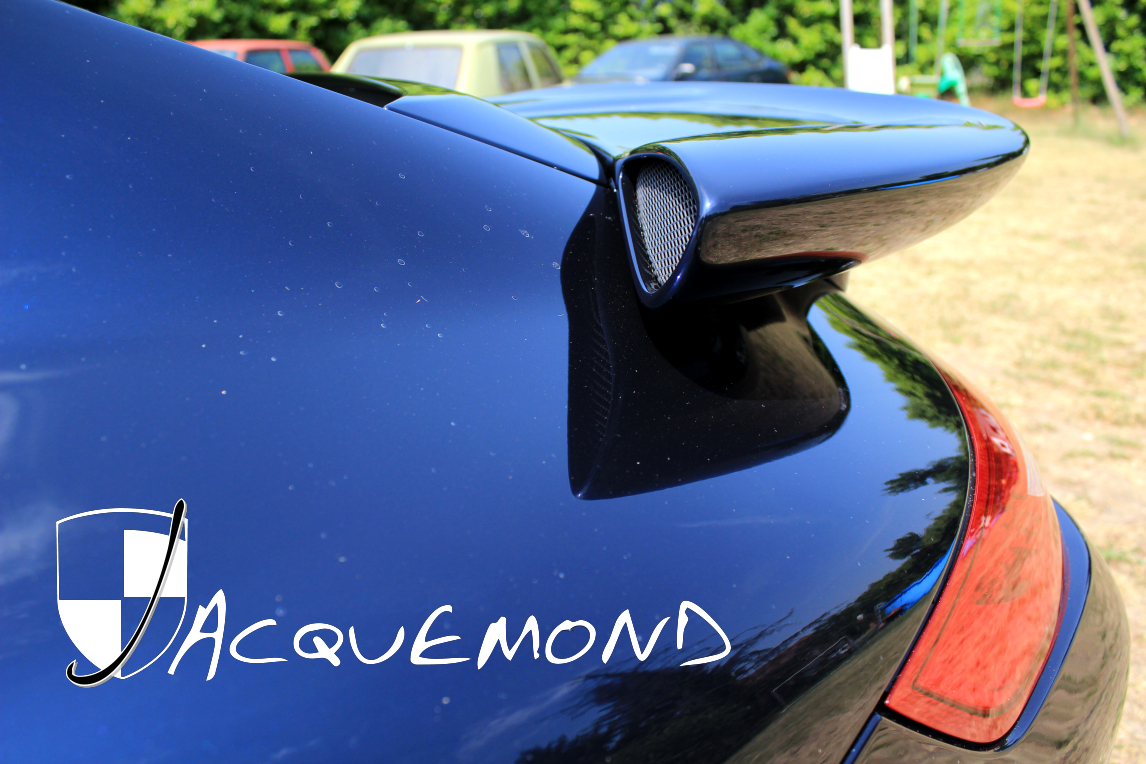 aileron arrière Darus pour Porsche 997 Jacquemond