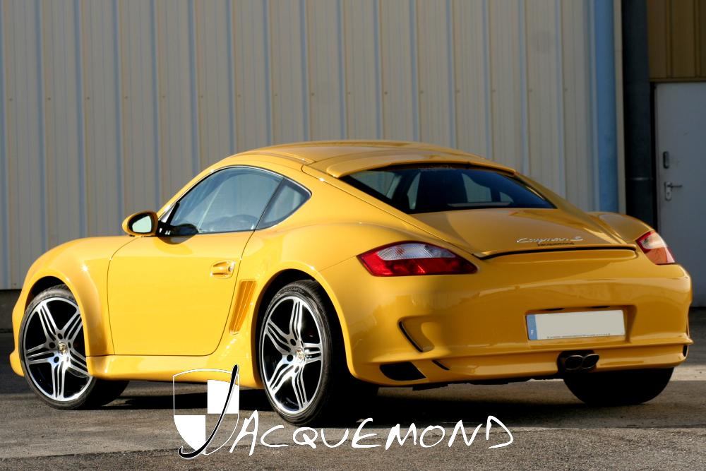 Jacquemond : programme de carrosserie large pour Porsche Cayman 987
