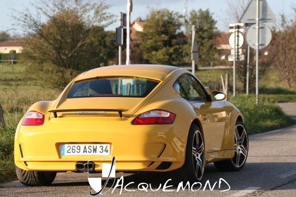 Jacquemond : programme de carrosserie large pour Porsche Cayman 987 ( kit )