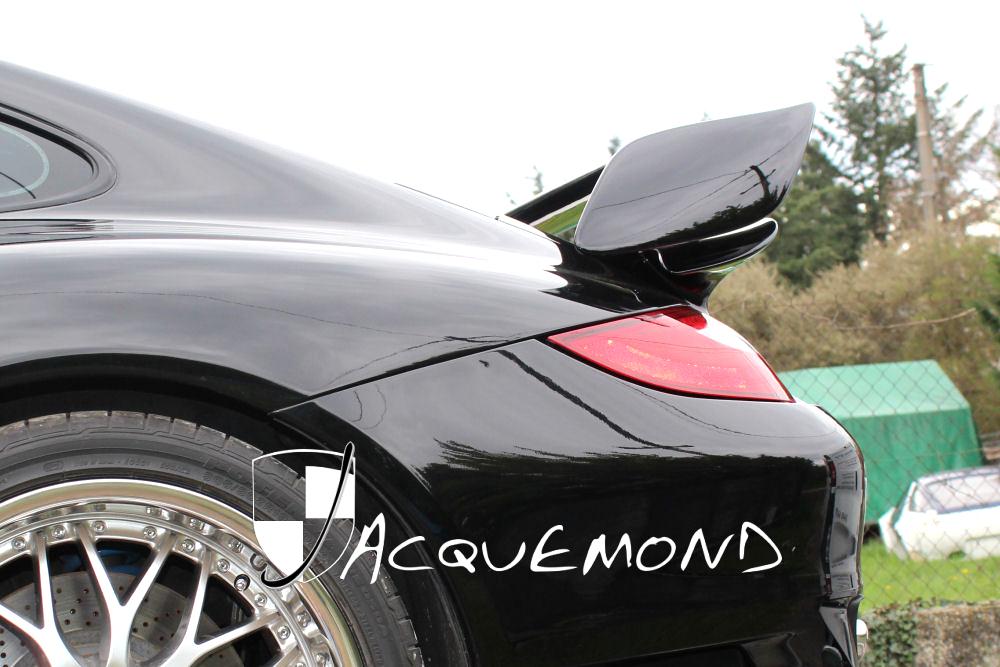 aileron arrière GT2 pour Porsche 997 Turbo Mk1 Mk2 par Jacquemond