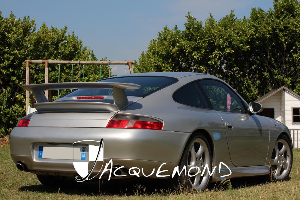 aileron arrière Porsche 996 GT3 Mk2 par Jacquemond