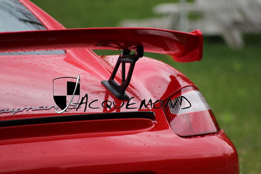 aileron arrière 981 GT4 pour Porsche 987 Cayman Mk1 Mk2 par Jacquemond