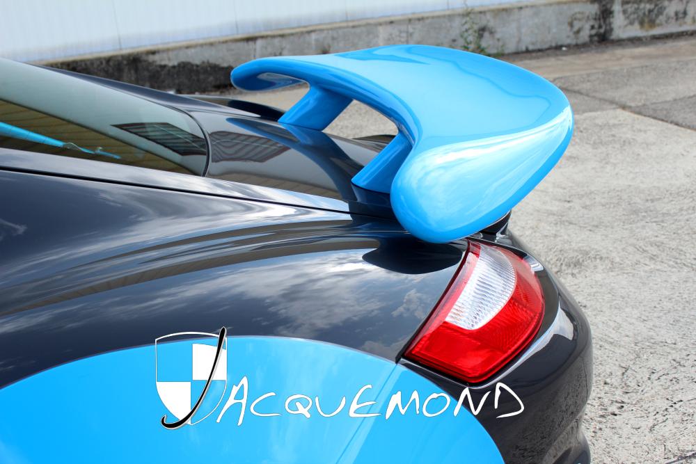 aileron arrière Porsche 987 Cayman par Jacquemond