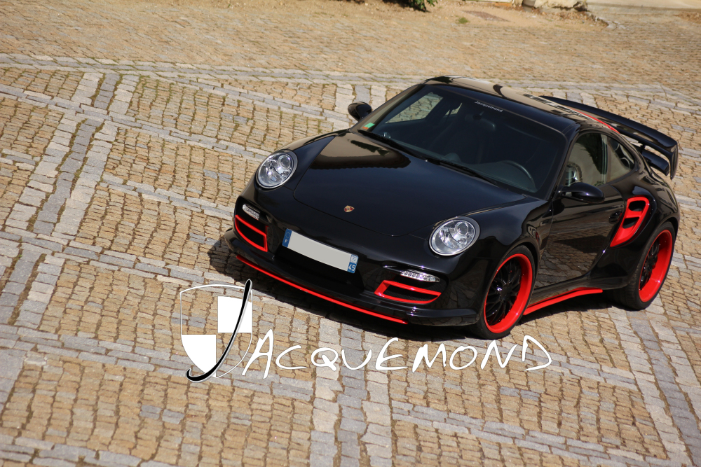 kit carrosserie large pour Porsche 997 Turbo par Jacquemond