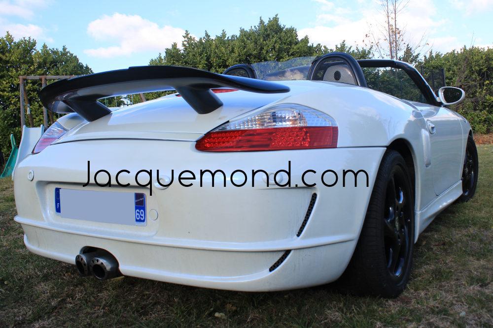 aileron arrière pour Porsche Boxster 986 et 987 par Jacquemond