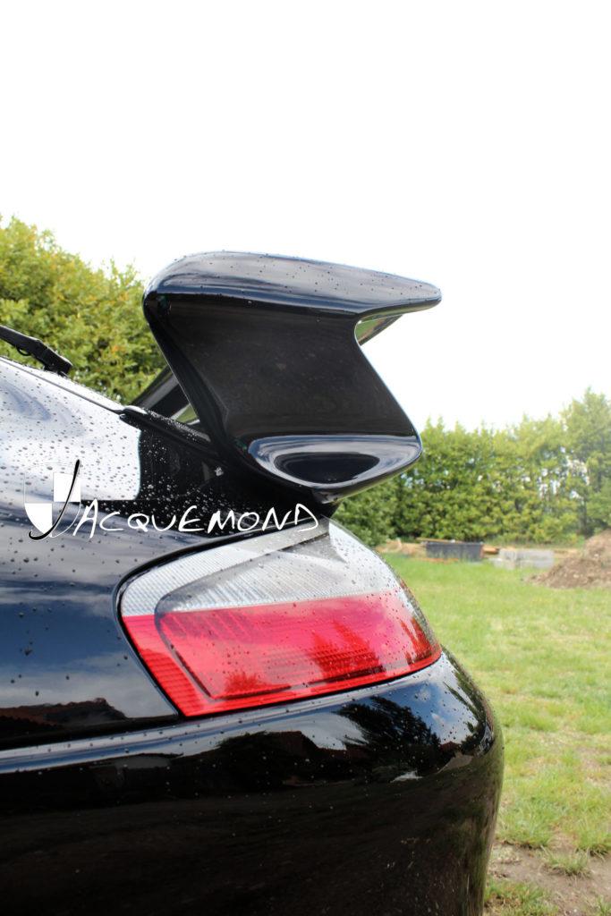 aileron arrière style 997 GT3 pour Porsche 996 par Jacquemond