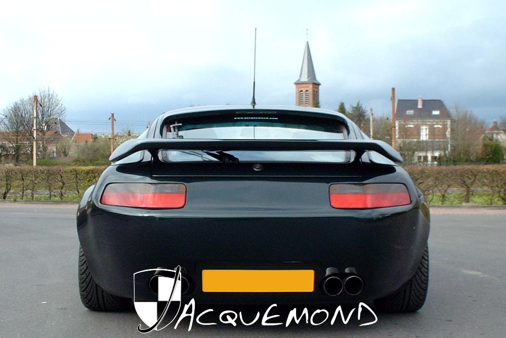 Kit carrosserie large et aileron pour Porsche 928 par Jacquemond