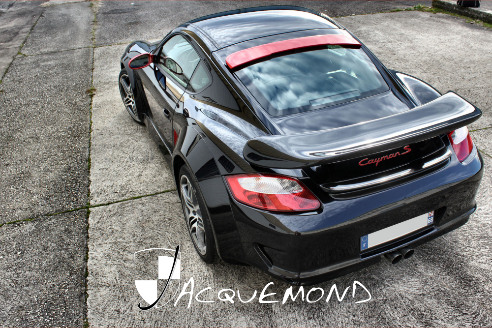 kit carrosserie large pour Porsche Cayman par Jacquemond