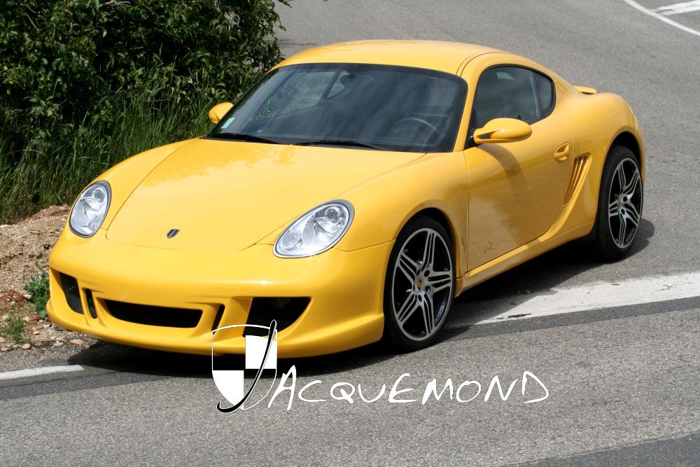kit carrosserie pour Porsche 987 Cayman  par Jacquemond