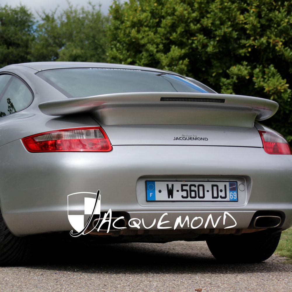 aileron arrière Darus Porsche 997 par Jacquemond