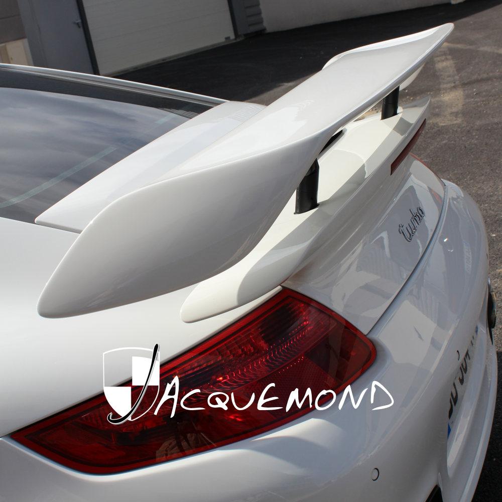 aileron arrière style 997 GT2 pour Porsche 997 Turbo par Jacquemond