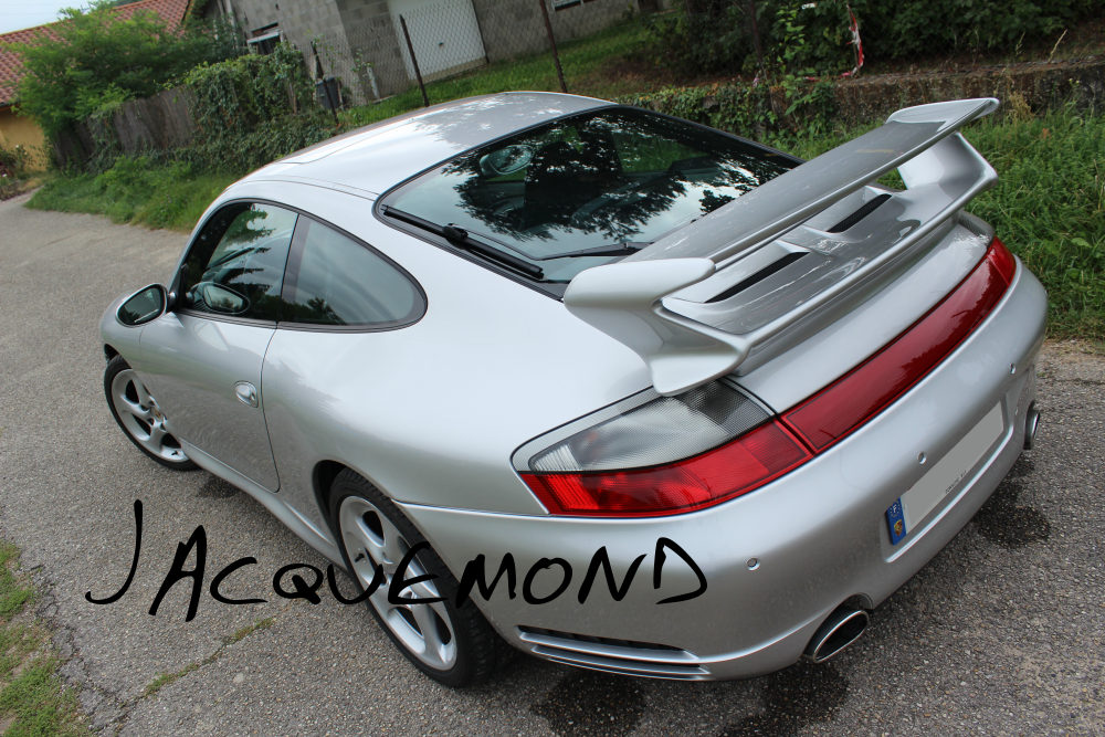 aileron arrière 997 GT3 pour Porsche 996 Jacquemond