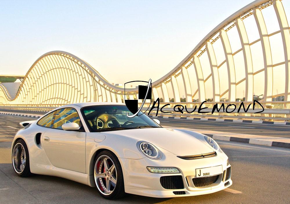 Kit carrosserie large style 997 pour Porsche 996 Turbo par Jacquemond