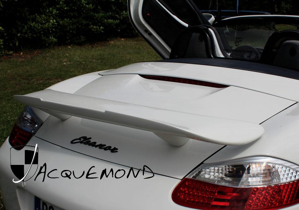 aileron arrière largo pour Boxster Porsche Jacquemond