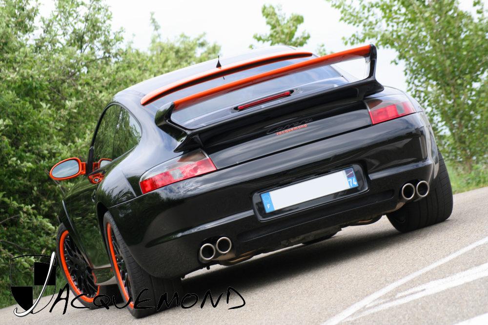 997 GT3 aileron Porsche 996 Jacquemond