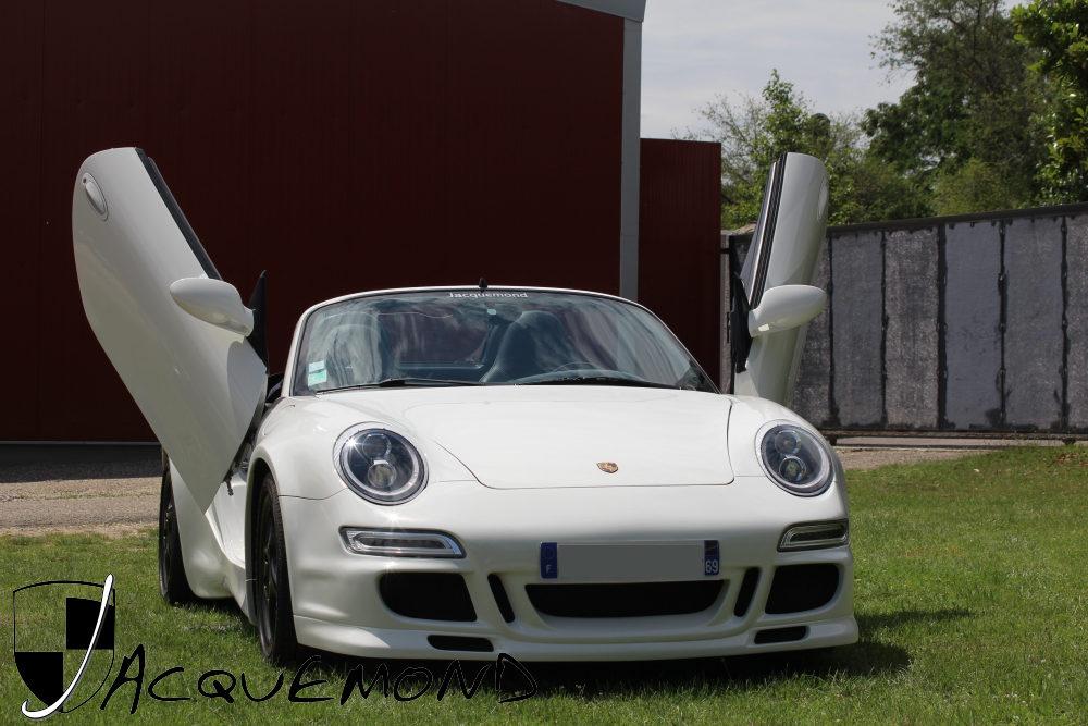 kit large Porsche 986 Boxster par Jacquemond
