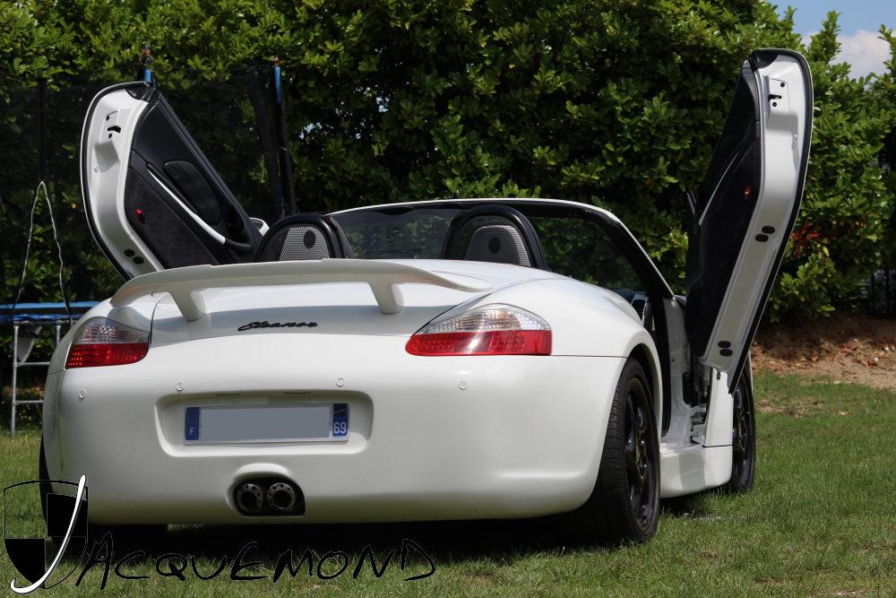 kit carrosserie large Porsche 986 Boxster par Jacquemond
