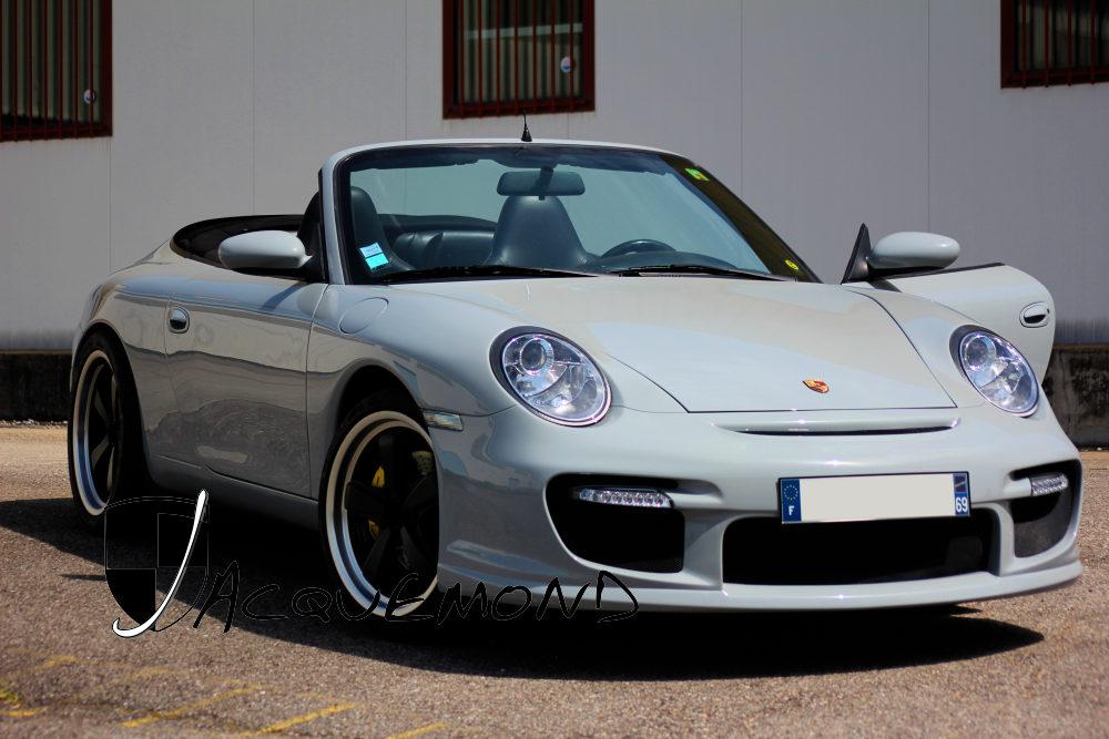 IENAFacelift : conversion 997 GT2 pour Porsche  996 par Jacquemond