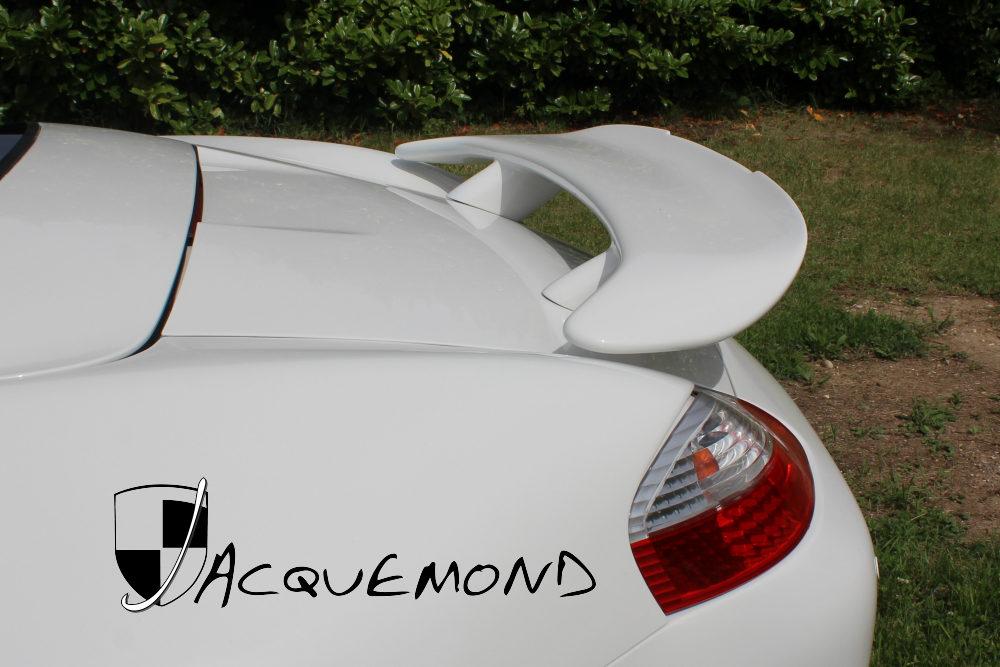 aileron arrière Largo pour Porsche Boxster 986 987 par Jacquemond