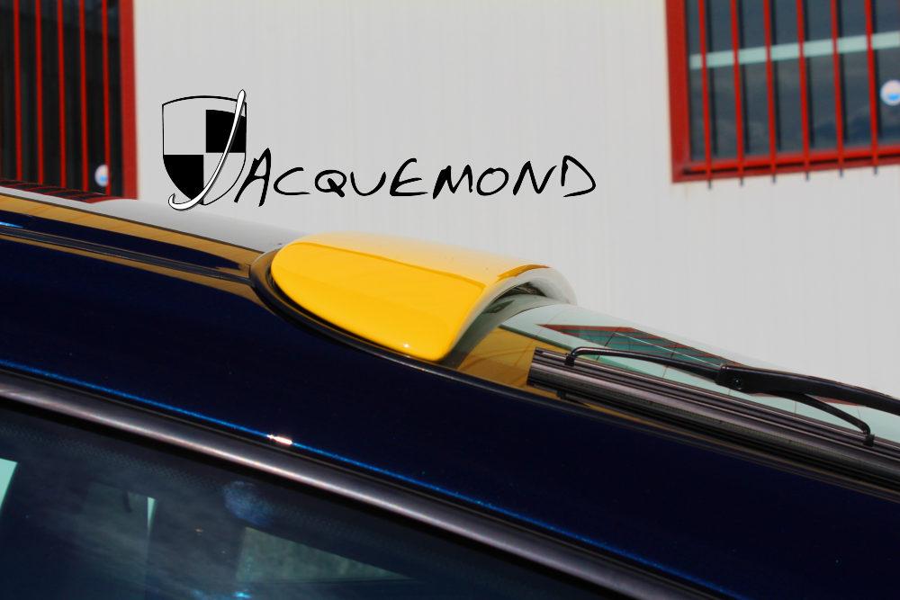 spoiler de toit pour Porsche 996 par Jacquemond