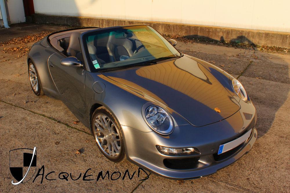 kit carrosserie large style 997 pour Porsche 996  par Jacquemond