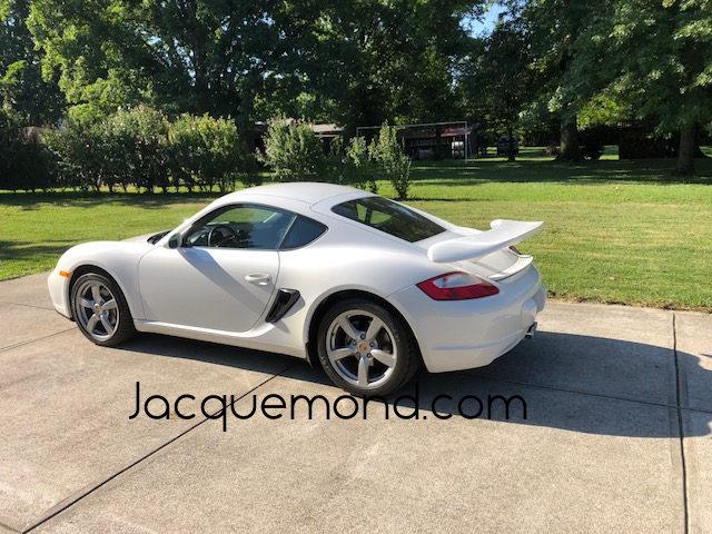 aileron arrière pour Porsche 987 Cayman Jacquemond