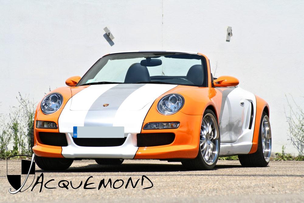 kit carrosserie large pour Porsche 996 par Jacquemond