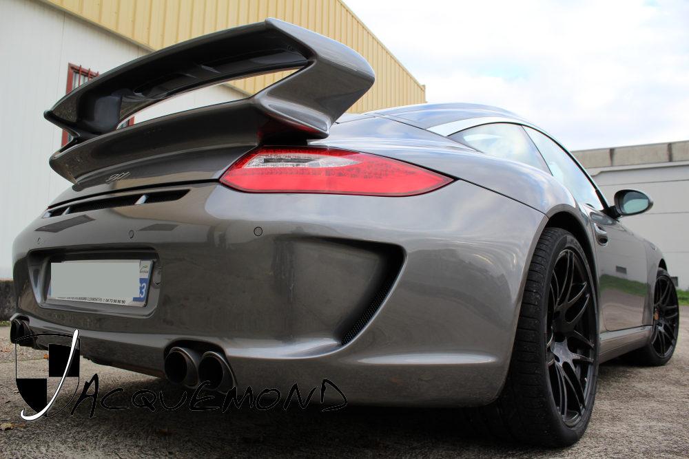 Aileron arrière 997 GT3 Evocation pour Porsche 997 par Jacquemond