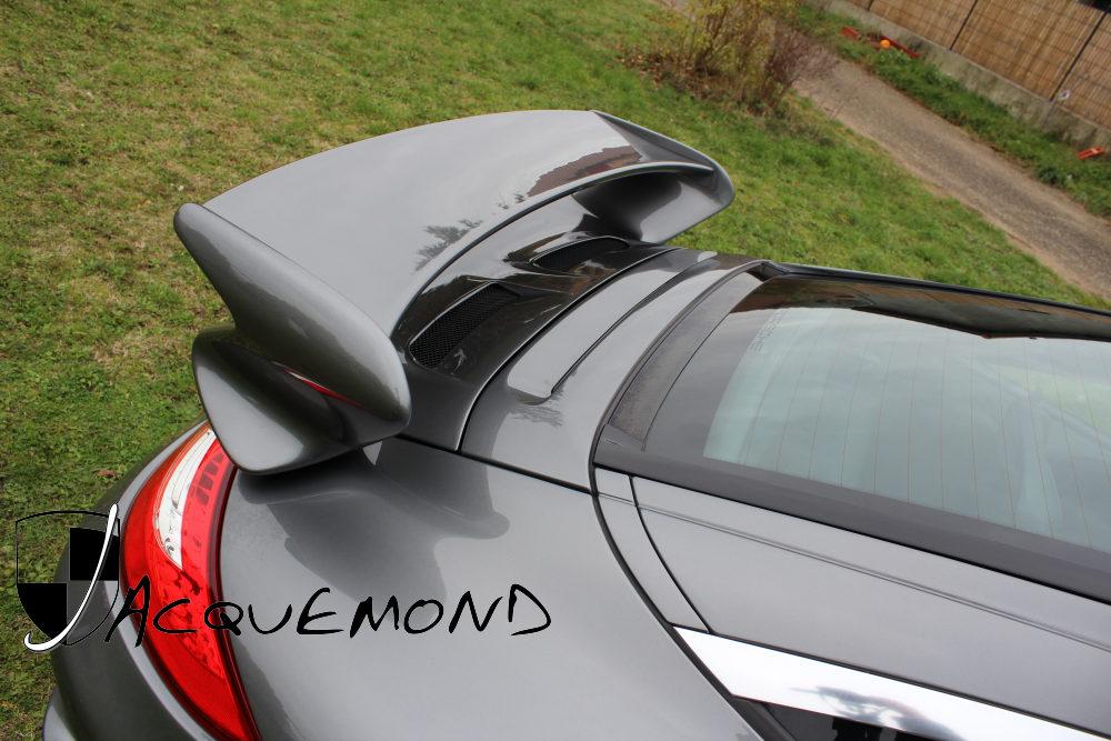 aileron arrière 997 GT3 Evocation pour Porsche 997 Mk1 Mk2 par Jacquemond