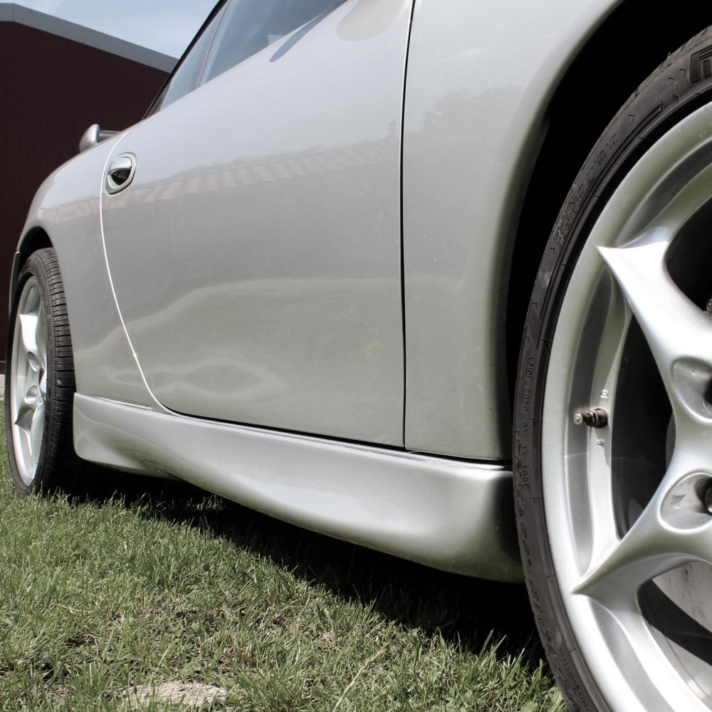 bas de caisse GT3 pour Porsche 996 par Jacquemond