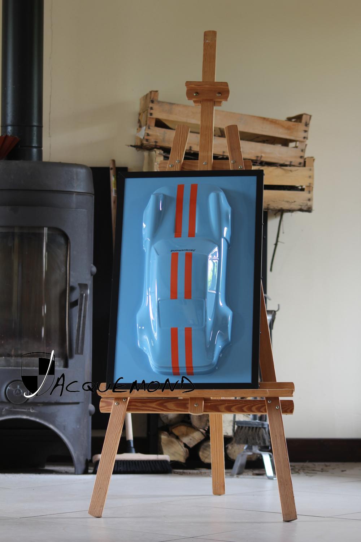 Sculpture 911 par Jacquemond