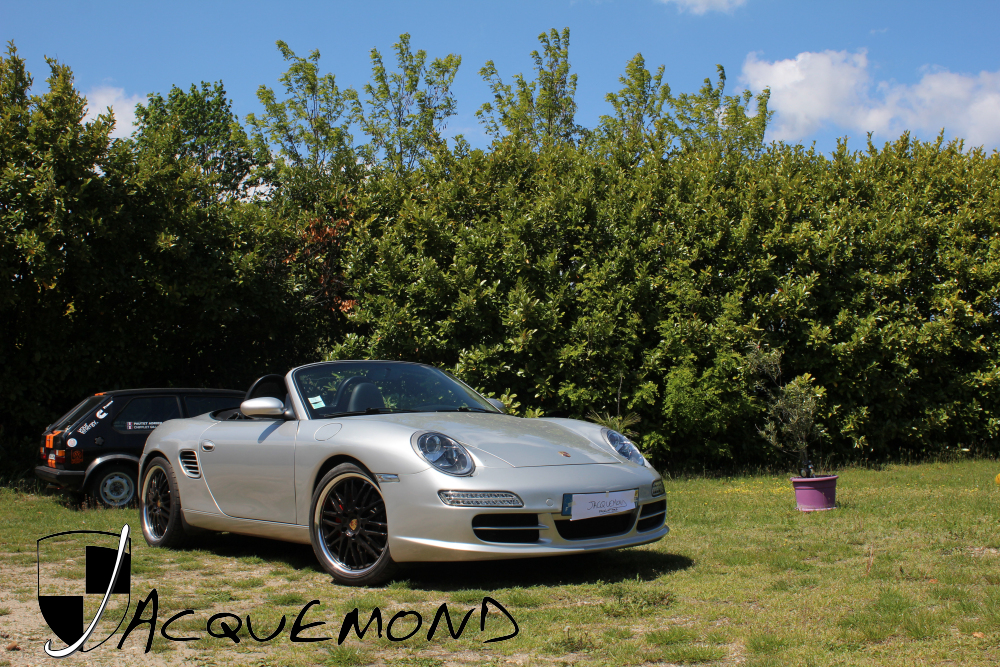 Jacquemond : Porsche Boxster 986 avec Facelift997, face avant de 997.