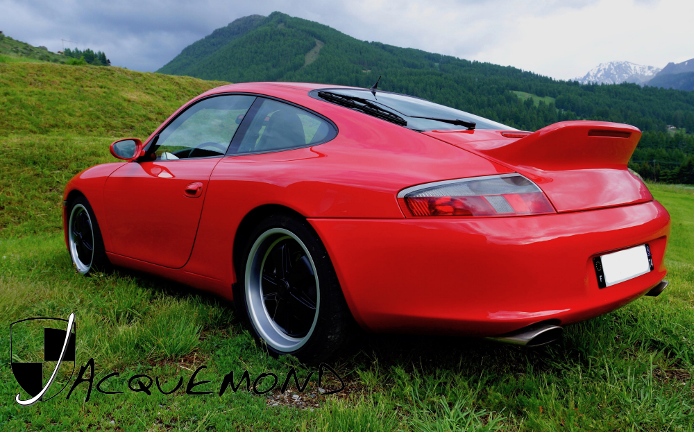 aileron queue de canard pour Porsche 996 par Jacquemond