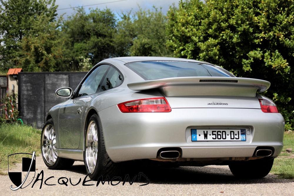 aileron arrière Darus pour Porsche 997 par Jacquemond