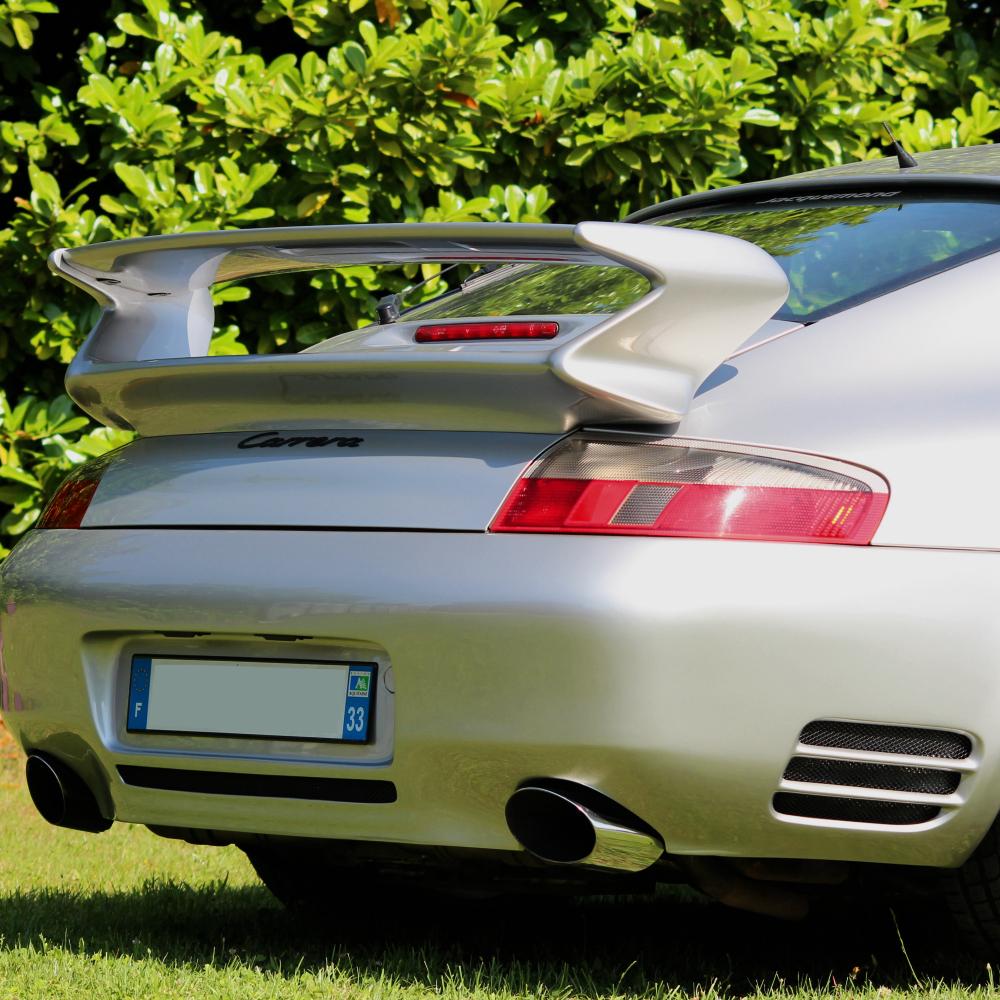 aileron 997 GT3 Evocation pour Porsche 996 par Jacquemond