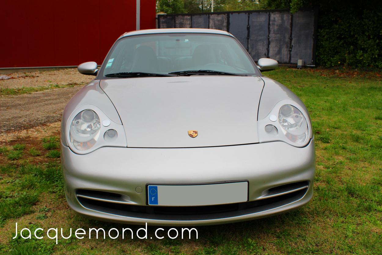 couvertures de phares pour Porsche 996 par Jacquemond