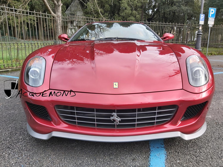 Lame de spoiler avant style 599 GTO pour Ferrari 599 par Jacquemond