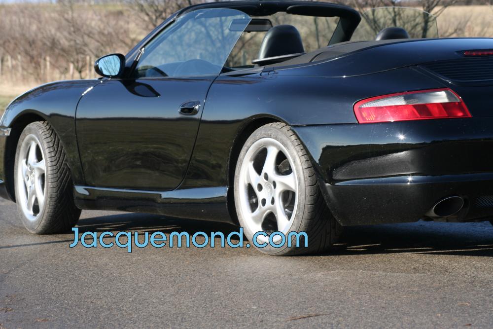 bas de caisse softline pour Porsche 996 par Jacquemond