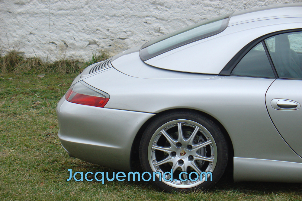 bouclier arrière softline pour Porsche 996 par Jacquemond