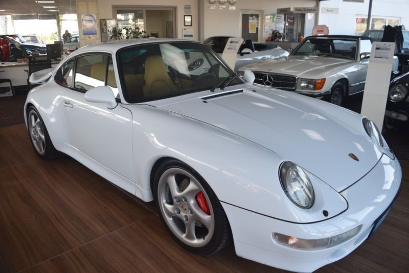 A vendre Porsche 993 Turbo blanche Jacquemond