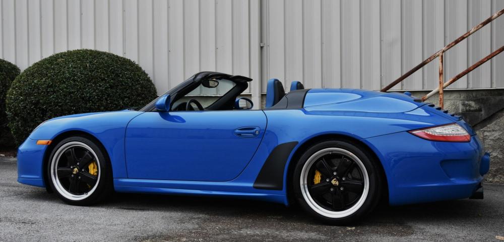 A vendre Porsche 997 Speedster bleu Jacquemond