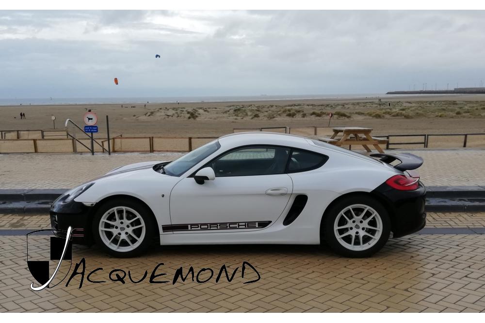 aileron arrière Denise pour Porsche 981 Cayman par Jacquemond