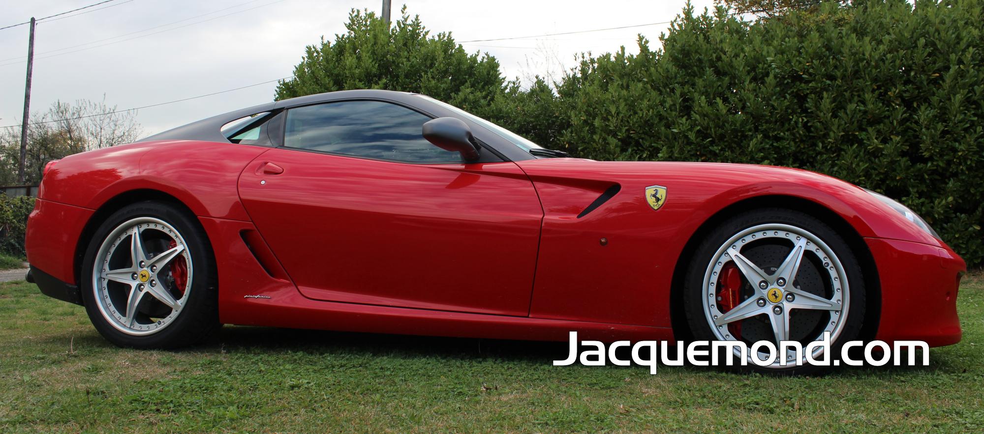 Bas de caisse Ferrari 599 par Jacquemond.